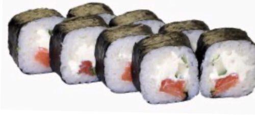 Футомаки с лососем