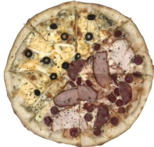 Cырно-Мясная Пицца